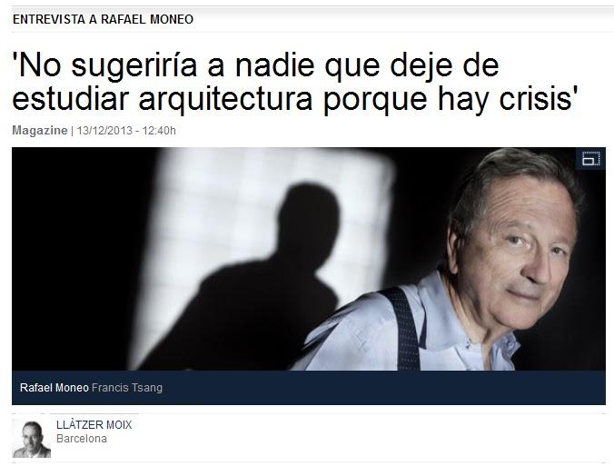Gij n arquitectura blog entrevista a rafael moneo no for En que universidades hay arquitectura