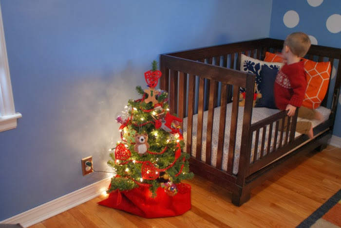 kid friendly Christmas tree