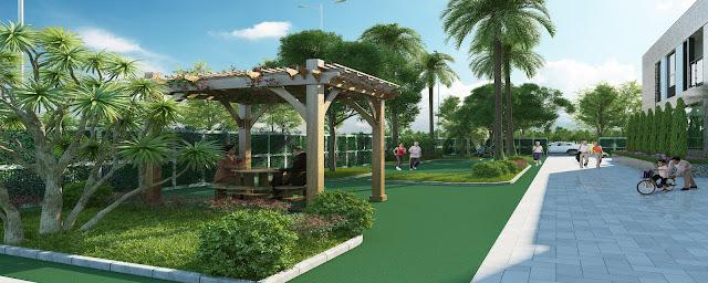 Khu vườn tập dưỡng sinh tại Valencia Garden
