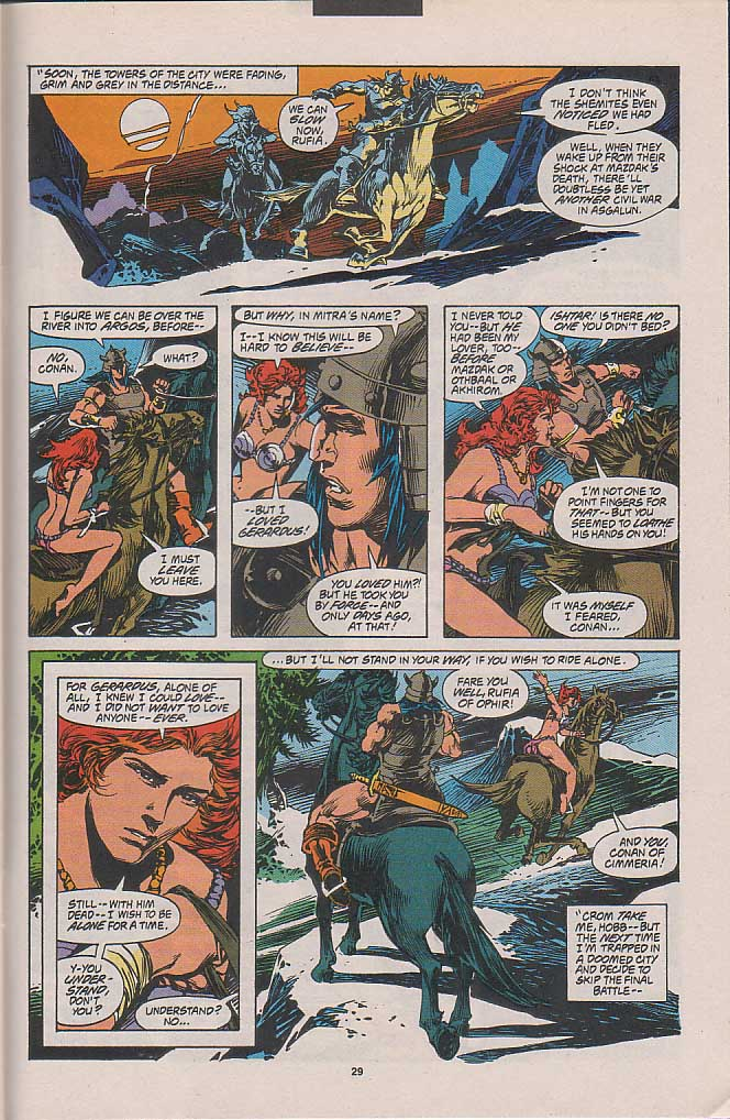 Conan the Barbarian (1970) Issue #262 #274 - English 21