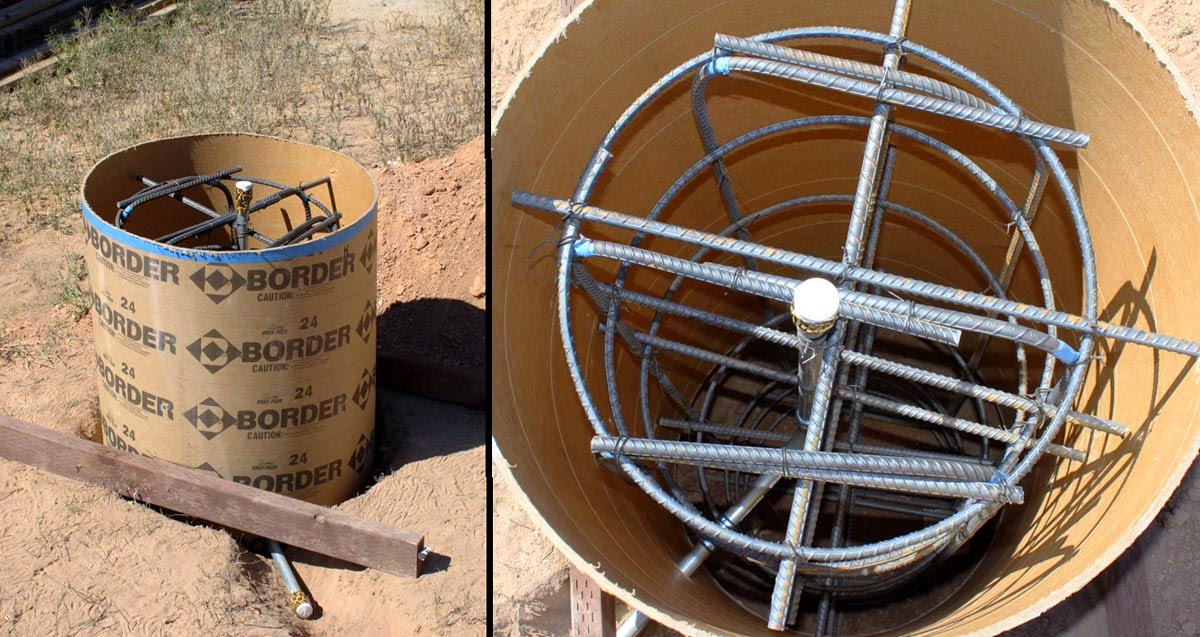 Rebar Ties With Looped Ends : Sonotube rebar pictures to pin on pinterest thepinsta