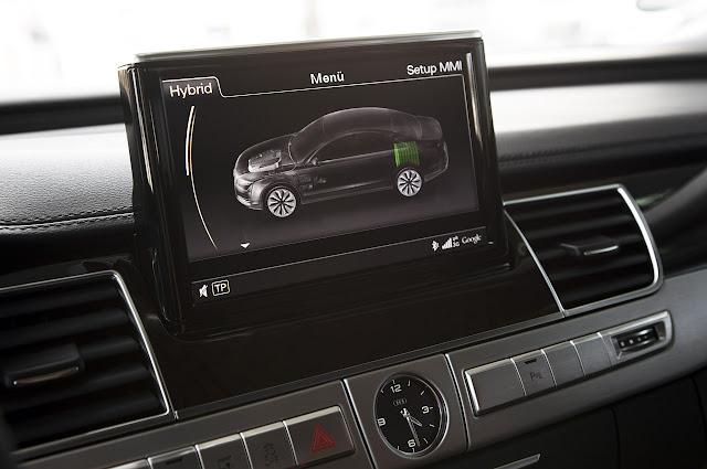 магнитола Audi A8 Hybrid 2012 года