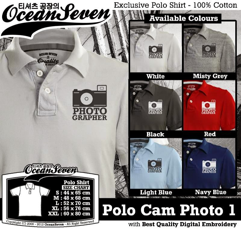 Kaos Polo Cam Photo 1
