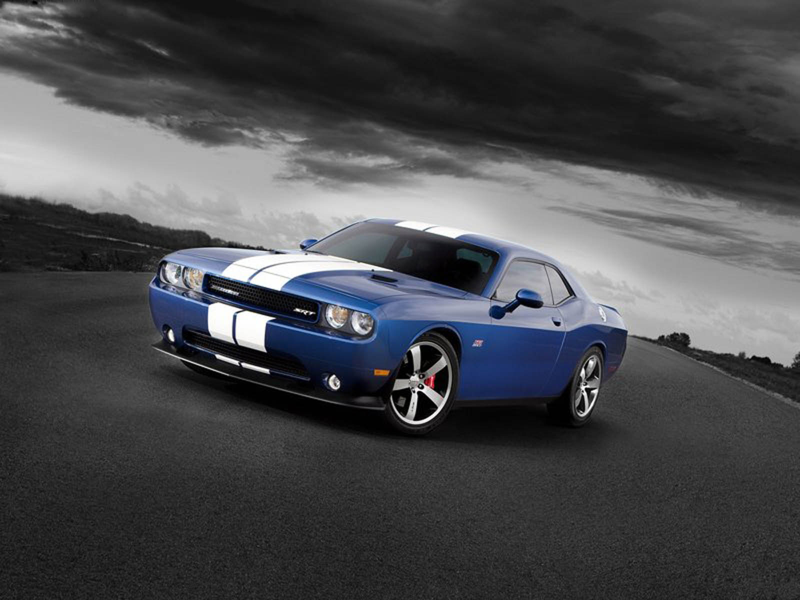 dodge challenger srt8 car - nature wallpapers