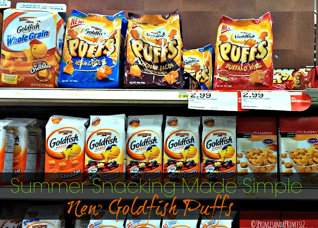 New at Target Goldfish Puffs #Makeitgopuff #Shop
