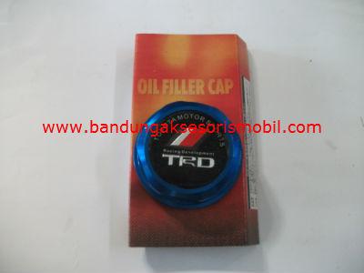 Tutup Oil TRD Biru