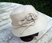natural linen trilby