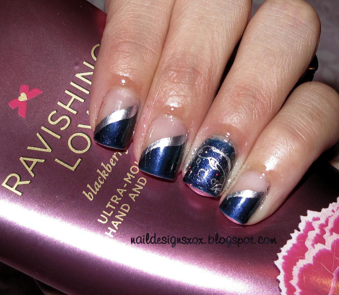 Nail Designs Opi Glacier Bay Blues