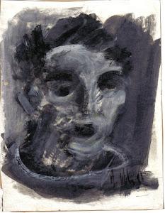 """Henri Cachau, illustrateur de """"La partie riante des affreux"""""""