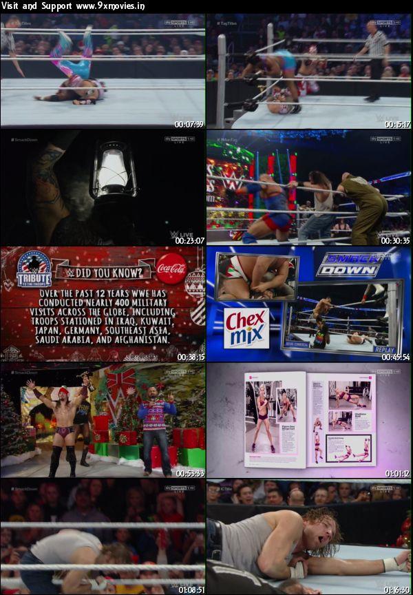 WWE Smackdown Live 22 Dec 2015 HDTV 480p