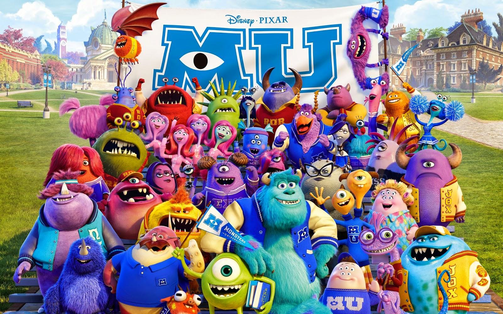 Monsters University / ΜΠΑΜΠΟΥΛΕΣ ΠΑΝΕΠΙΣΤΗΜΙΟΥ 2013 ΜΕΤΑΓΛΩΤΙΣΜΕΝΟ ταινιες online seires xrysoi greek subs