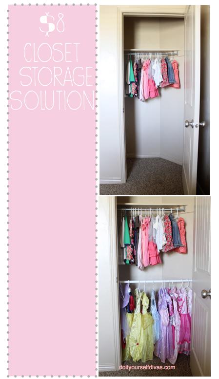 DIY: Extra Closet Storage