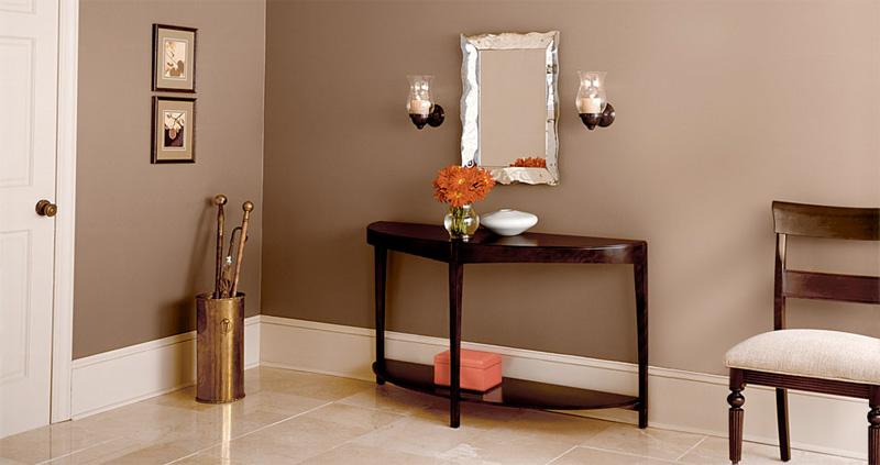 C mo decorar las habitaciones de color marr n decorar for Sofas marrones decoracion