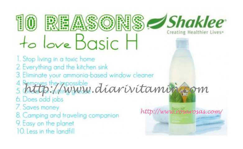 Top 10 Reasons Why You Should Love Shaklee Basic H