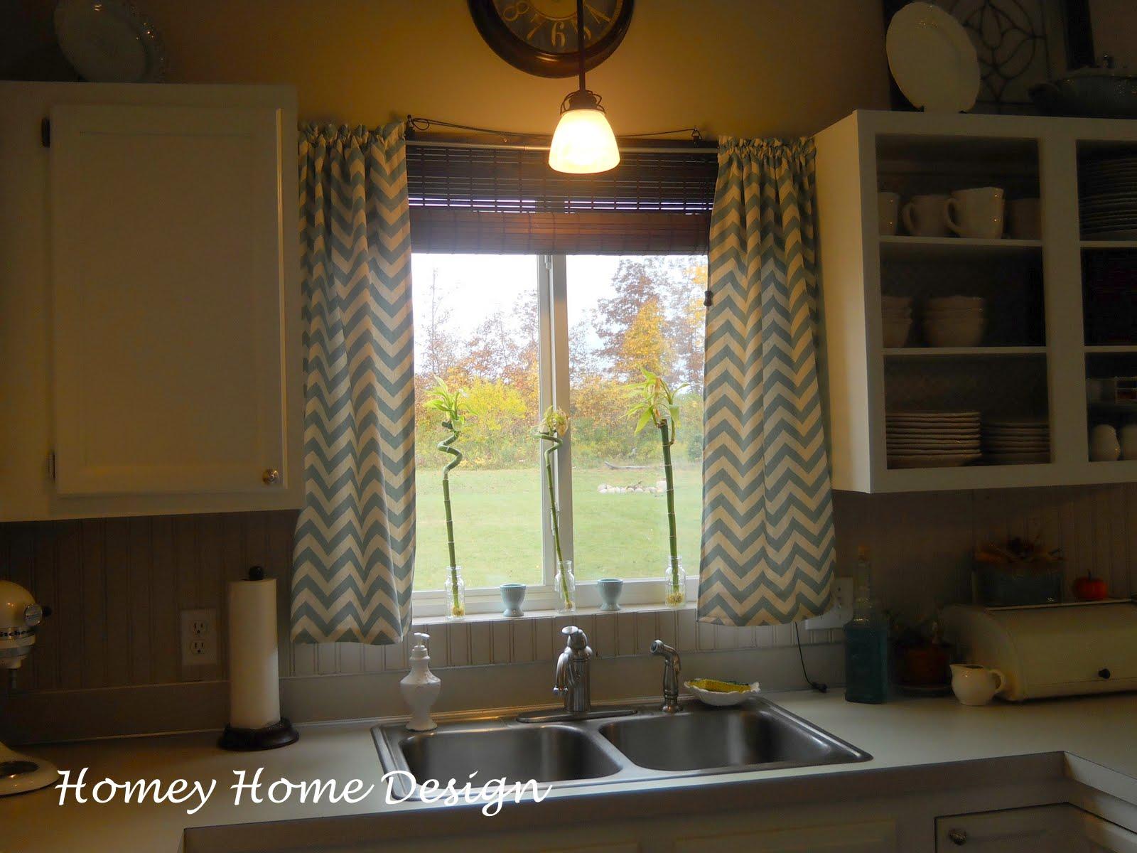 Yellow chevron kitchen curtains - Yellow Chevron Kitchen Curtains