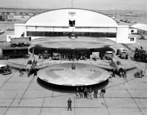 Proyek UFO Rahasia Jerman Dalam PD II