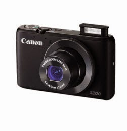 Amazon: Buy Canon Powershot S200 Camera with 4gb card and Case Rs. 9999