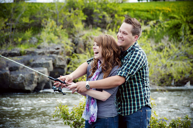 Kimberly + Tom ~ Rexburg Engagement Photography