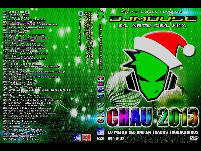 DVD DJ MOUSE CHAU 2013