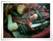 Cah Sayuran Ikan Pari Saus Tiram