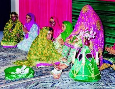 Omani Wedding: Village Interior Style