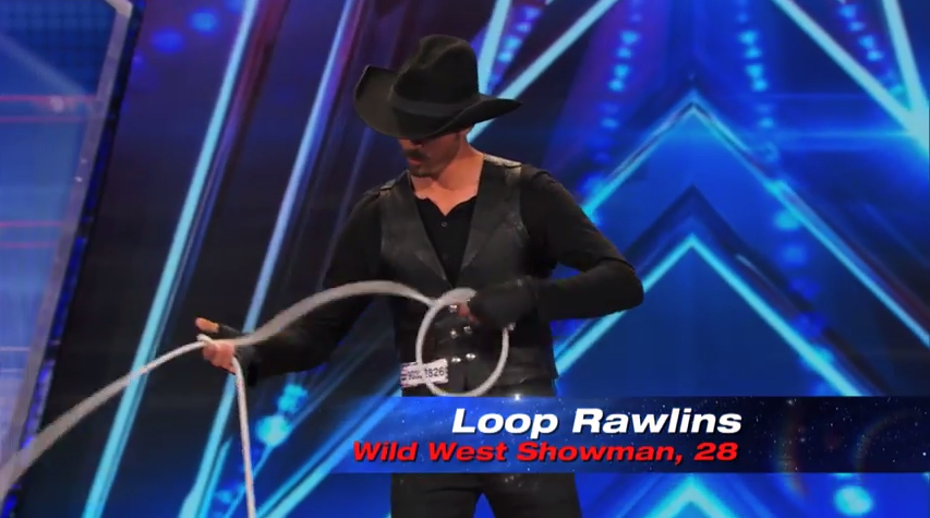 Loop Rawlins performance spinning rope on America's Got Talent Season 9