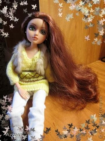 Как превратить свалявшиеся волосы куклы в шелковые и послушные