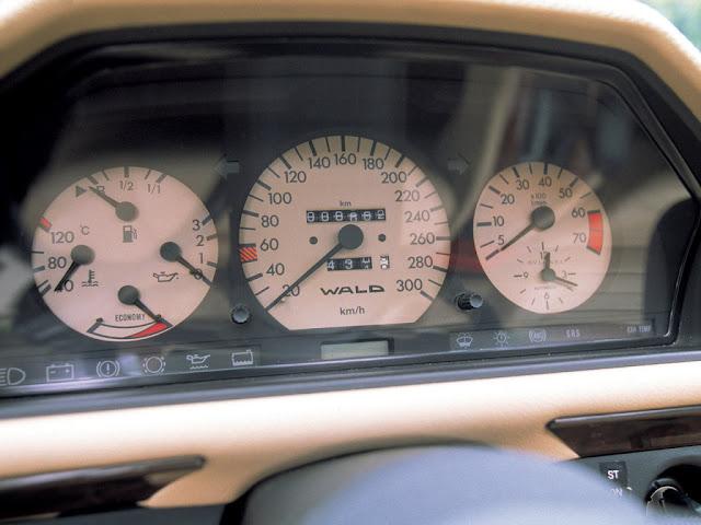 w124 wald speedometer
