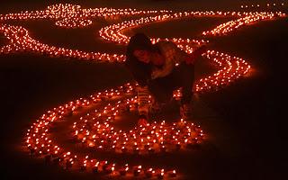 Diwali lights 2013