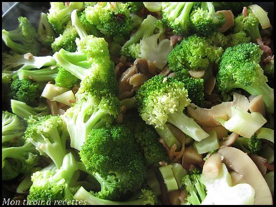 poelée de brocolis