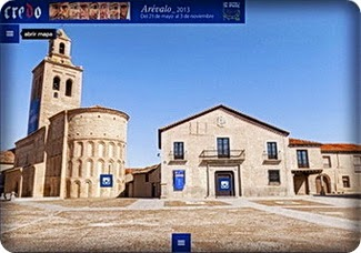 """VISITA VIRTUAL EN 360º. A LA EXPOSICIÓN """"CREDO"""" LAS EDADES DEL HOMBRE, ARÉVALO, 2013"""