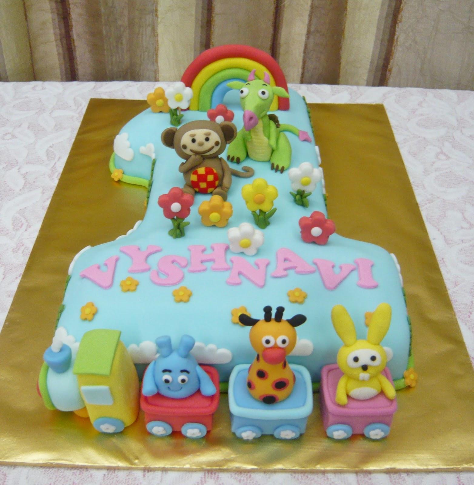 Baby Tv Cake Images : Jenn Cupcakes & Muffins: No.1 Baby TV Cake