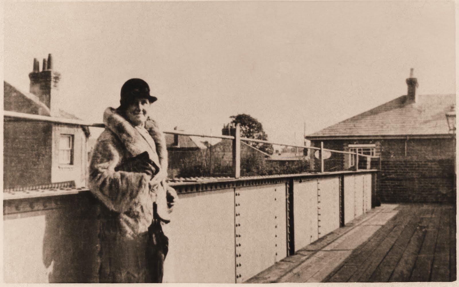 Bridge over Gosport Road station