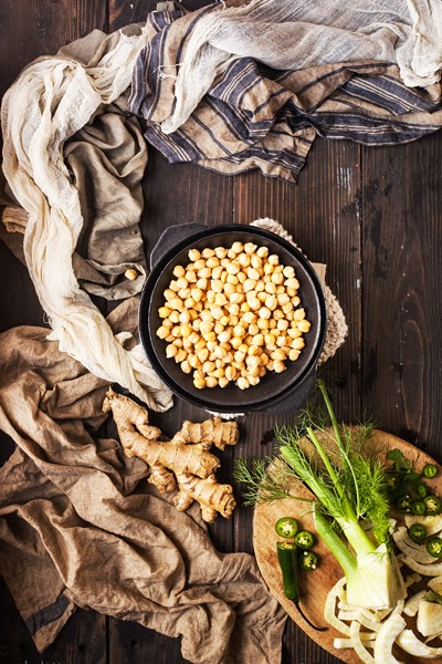 Chickpeas and Fennel
