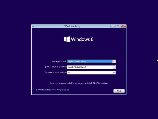 Cách vào Boot trong Windows 8.1 khi máy bị lỗi