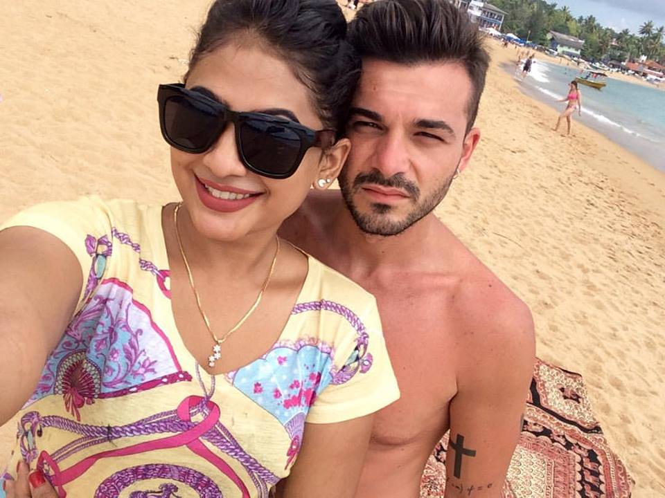 piyumi hansamali boyfriend beach