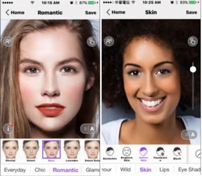 aplikasi android untuk mengedit foto gratis Perfect365