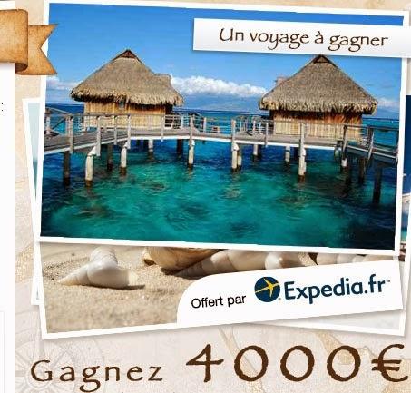 Jeu concours : Gagnez un voyage de 4000 euros