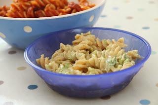 Dairy free brocolli pesto pasta CMPA weaning recipe