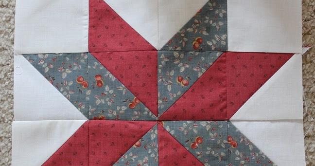 Piece N Quilt Star Quilt Lemoyne Star