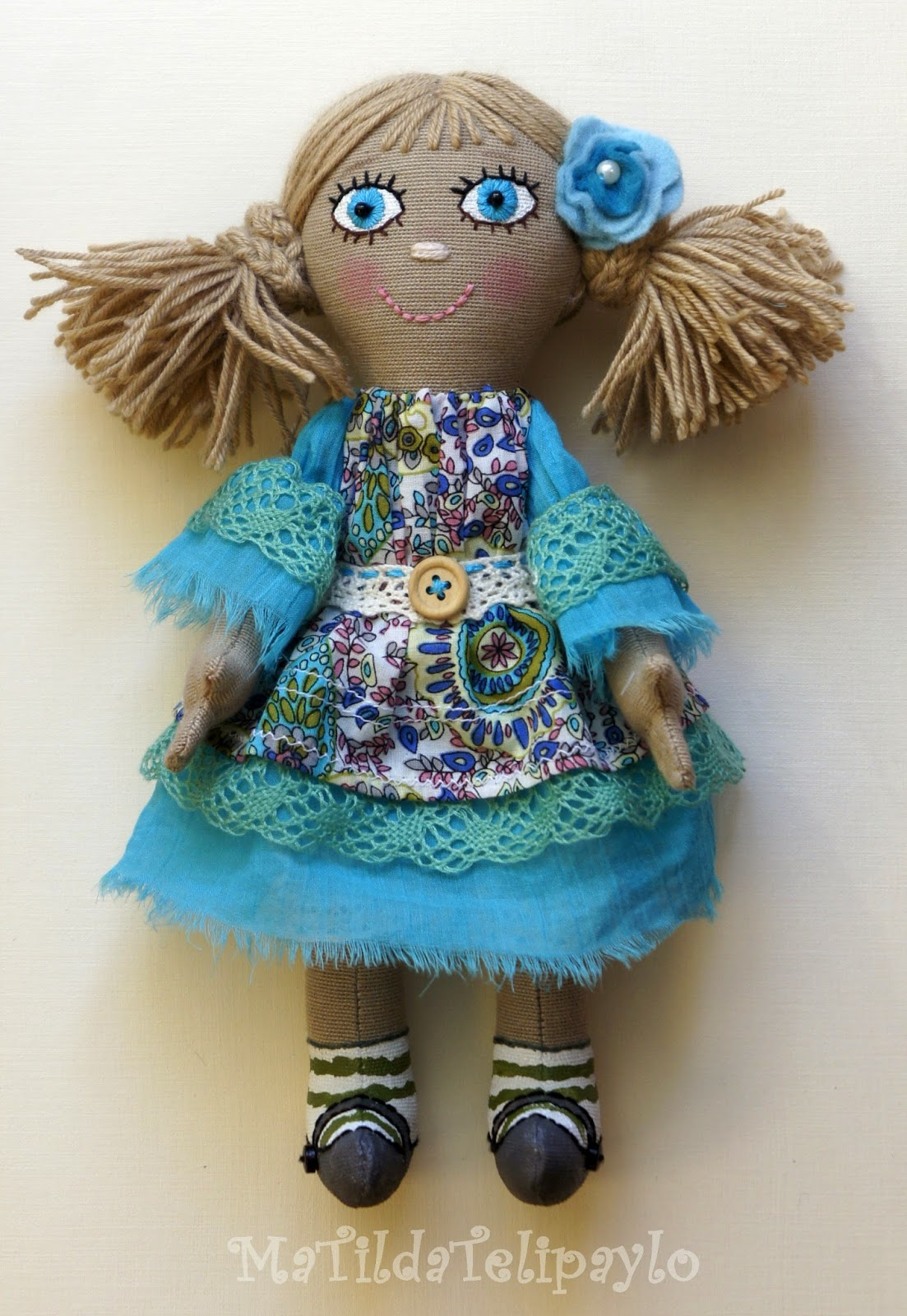 Кукла из хлопка ручной работы купить