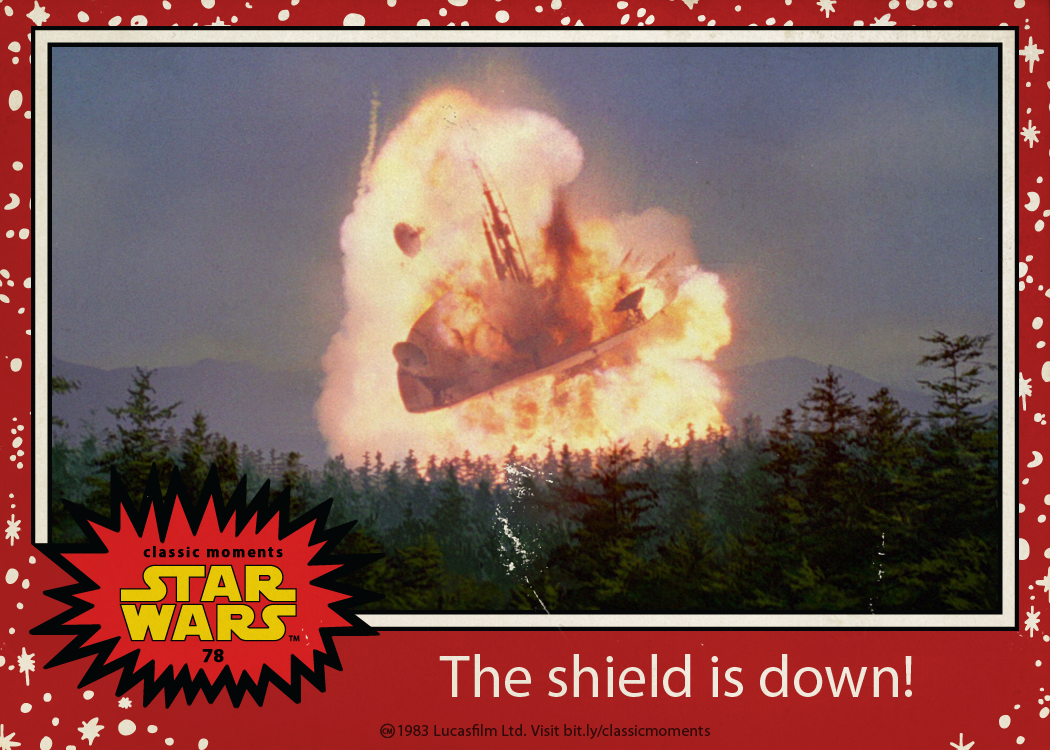 the shield is down - jedi