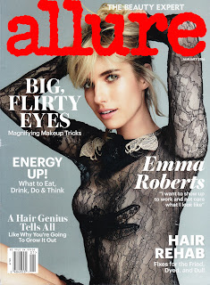 Emma Roberts – Allure magazine January 2016 issue