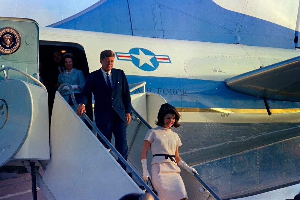 JFK-Arrival-In-Houston-Texas-November-21
