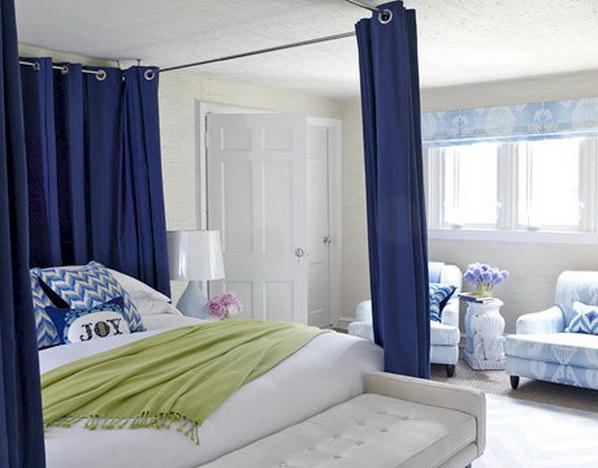 tr s contemporains mod les de lit baldaquin d cor de. Black Bedroom Furniture Sets. Home Design Ideas