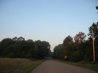 photo of country road in summer