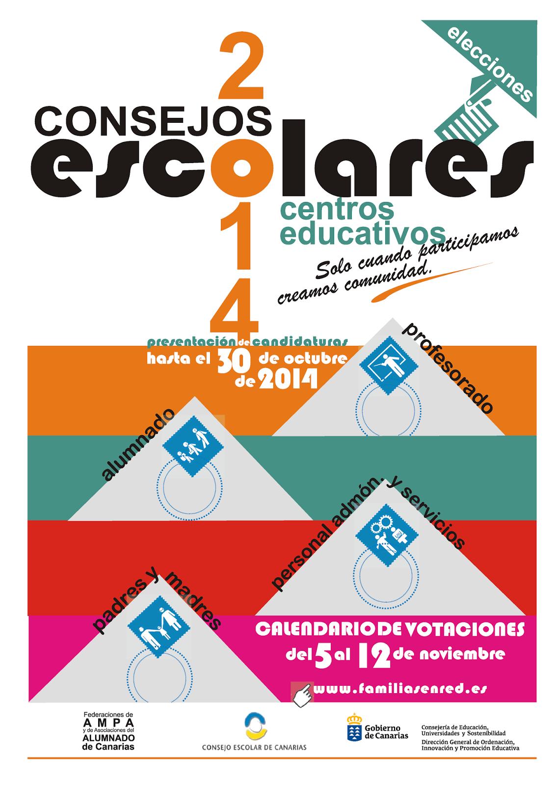 Elecciones Consejos Escolares 2014-15