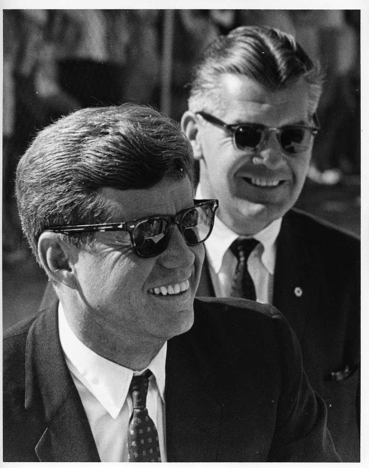 SAIC Gerald Behn and JFK