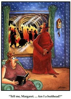 Image result for hell the far side