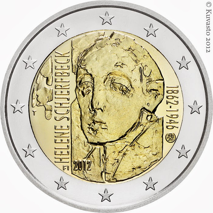 2 euro Finland 2012, Helene Schjerfbeck